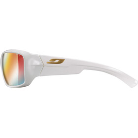 Julbo Whoops Zebra Sunglasses shiny white/multilayer red